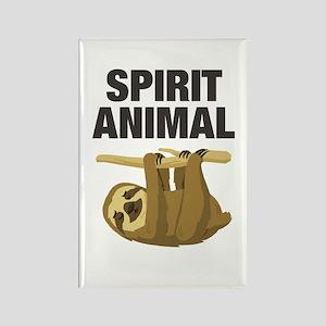 Sloth is my Spirit Animal Magnets