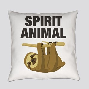 Sloth is my Spirit Animal Everyday Pillow