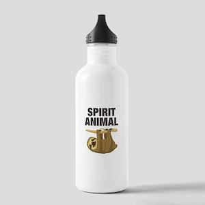 Sloth is my Spirit Animal Water Bottle