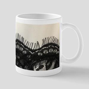 great gatsby black lace Mugs
