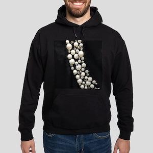 black and white pearl Sweatshirt