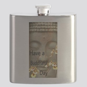 Have a Buddhaful Day Flask