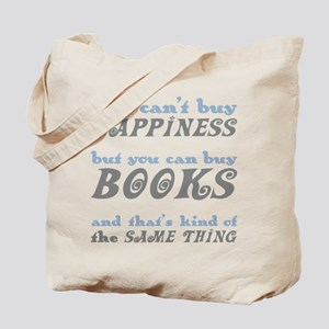 Buy Books Happiness Tote Bag
