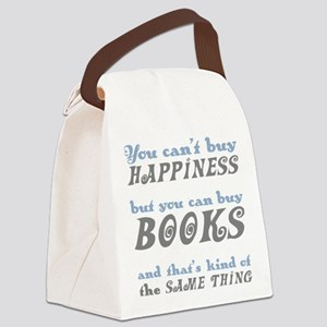 Buy Books Happiness Canvas Lunch Bag