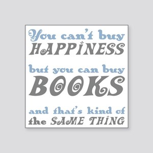 Buy Books Happiness Sticker