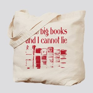 Cannot Lie Big Books Tote Bag