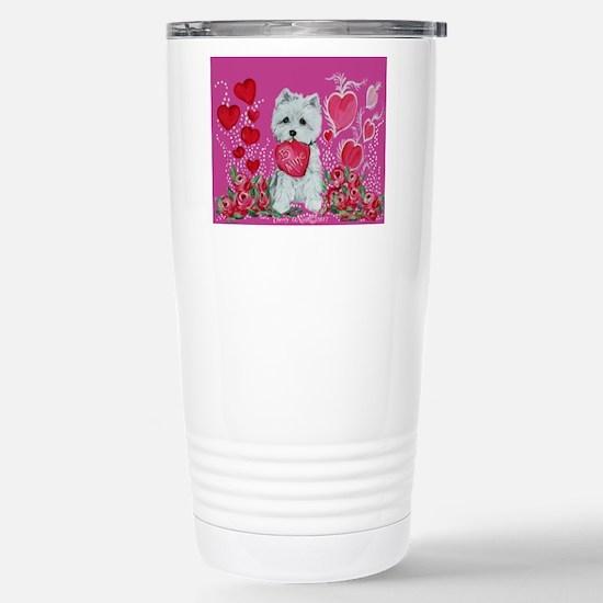 Be My Westie Travel Mug