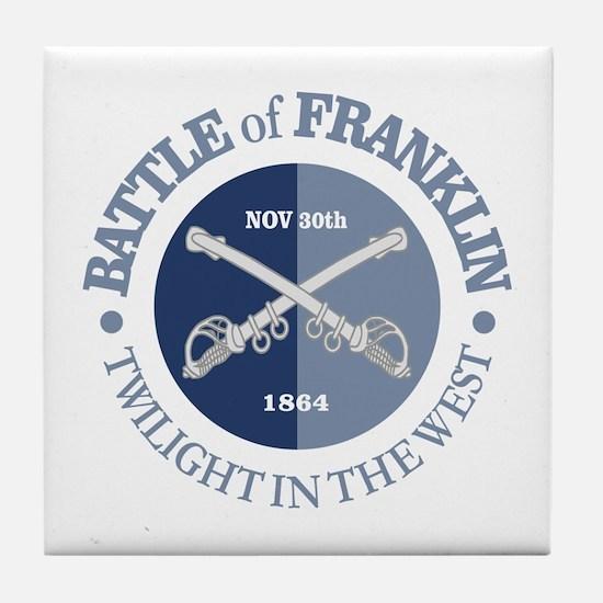Franklin (GB) Tile Coaster
