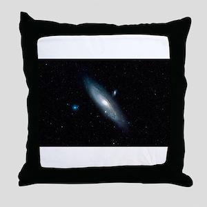 Andromeda Galaxy Throw Pillow