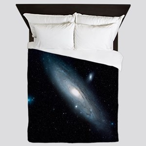 Andromeda Galaxy Queen Duvet