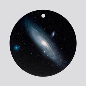 Andromeda Galaxy Round Ornament