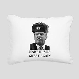 Make Russia Great Again Rectangular Canvas Pillow