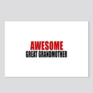 Awesome Great grandmother Postcards (Package of 8)