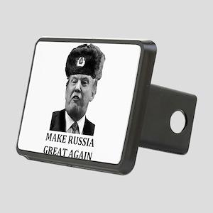 Make Russia Great Again Rectangular Hitch Cover