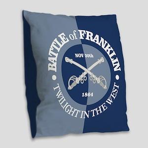 Franklin (GB) Burlap Throw Pillow