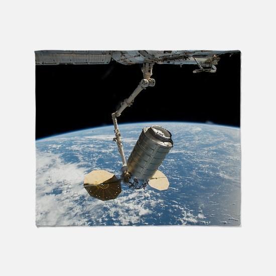 Unique Amateur radio on international space station Throw Blanket