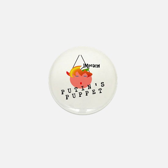 Impeach Putins Puppet Mini Button