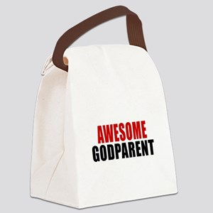 Awesome Godparent Canvas Lunch Bag