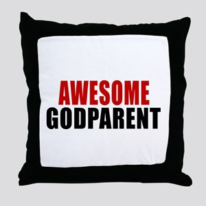 Awesome Godparent Throw Pillow