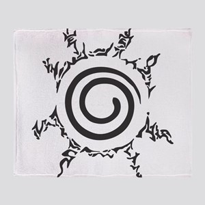 Naruto Shippuden - Nine Tails Seal Throw Blanket