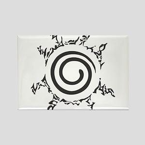 Naruto Shippuden - Nine Tails Sea Rectangle Magnet