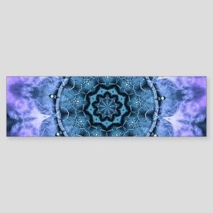 Gothic Fantasy Mandala Bumper Sticker