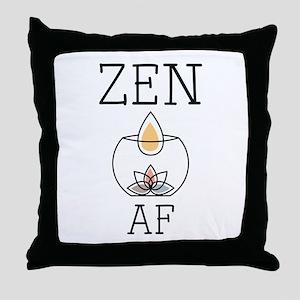 Zen AF Throw Pillow