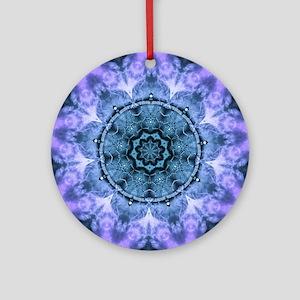 Gothic Fantasy Mandala Round Ornament