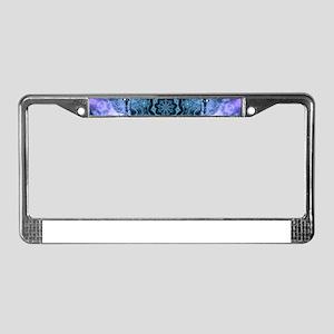 Gothic Fantasy Mandala License Plate Frame
