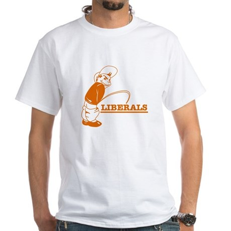 Piss on Liberals T-Shirt