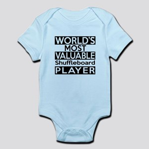 Most Valuable Shuffleboard Player Infant Bodysuit