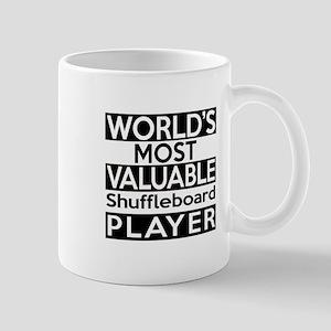 Most Valuable Shuffleboard Player Mug