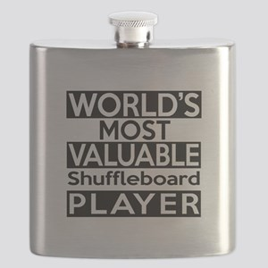 Most Valuable Shuffleboard Player Flask