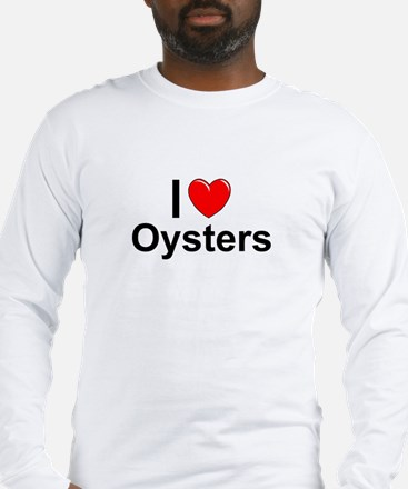 Oysters Long Sleeve T-Shirt