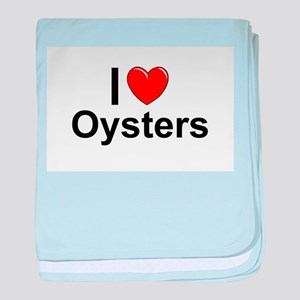 Oysters baby blanket