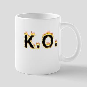 K.O. (Flames) Mugs