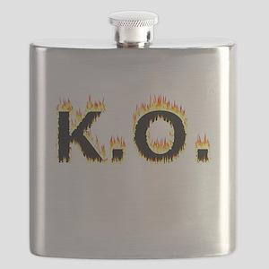 K.O. (Flames) Flask