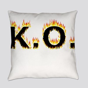 K.O. (Flames) Everyday Pillow
