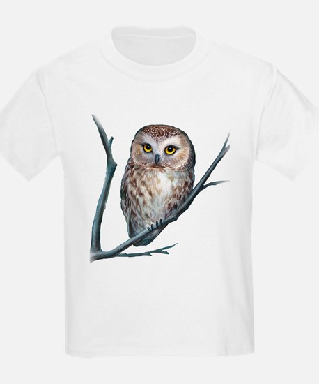 saw-whet owl dark shirt T-Shirt