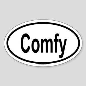 COMFY Oval Sticker