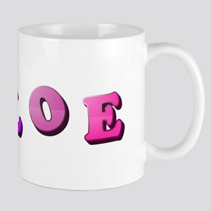 Chloe (Colored Letters) Mugs