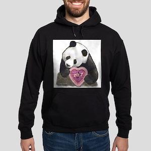 """Panda with a Heart for you"" Sweatshirt"