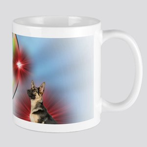 German Shepherd Angel Mugs
