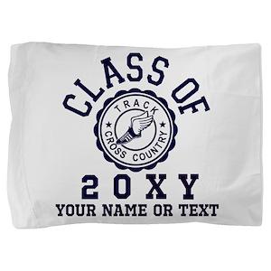 Class of 20?? Track Pillow Sham