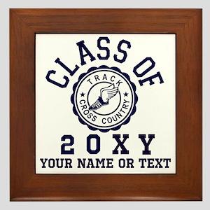 Class of 20?? Track Framed Tile