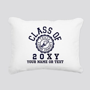 Class of 20?? Track Rectangular Canvas Pillow