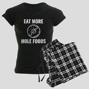 Eat More Hole Foods Women's Dark Pajamas