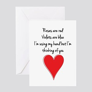 Roses are red, violets are blue, I& Greeting Cards