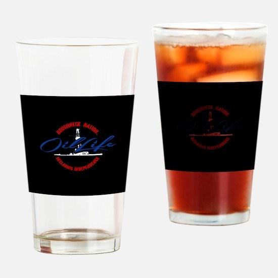 OIL LIFE LOGO Drinking Glass