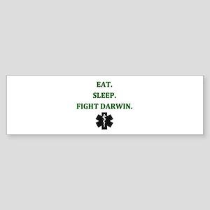 Eat Sleep Fight Darwin Bumper Sticker
